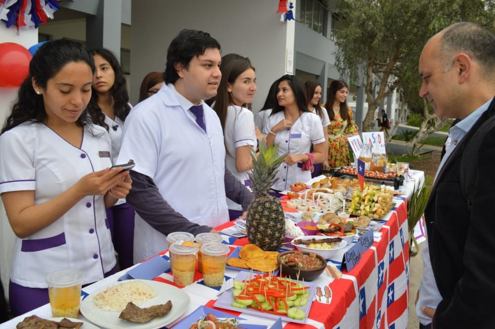una feria de �fiestas patrias� saludable organiz243 la